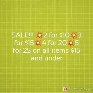 Accessories - Sale!!!